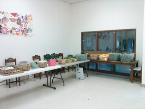 Classroom at TCEDC where the winter market will be held.