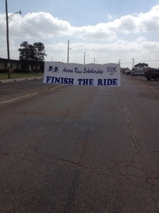 Finish the ride