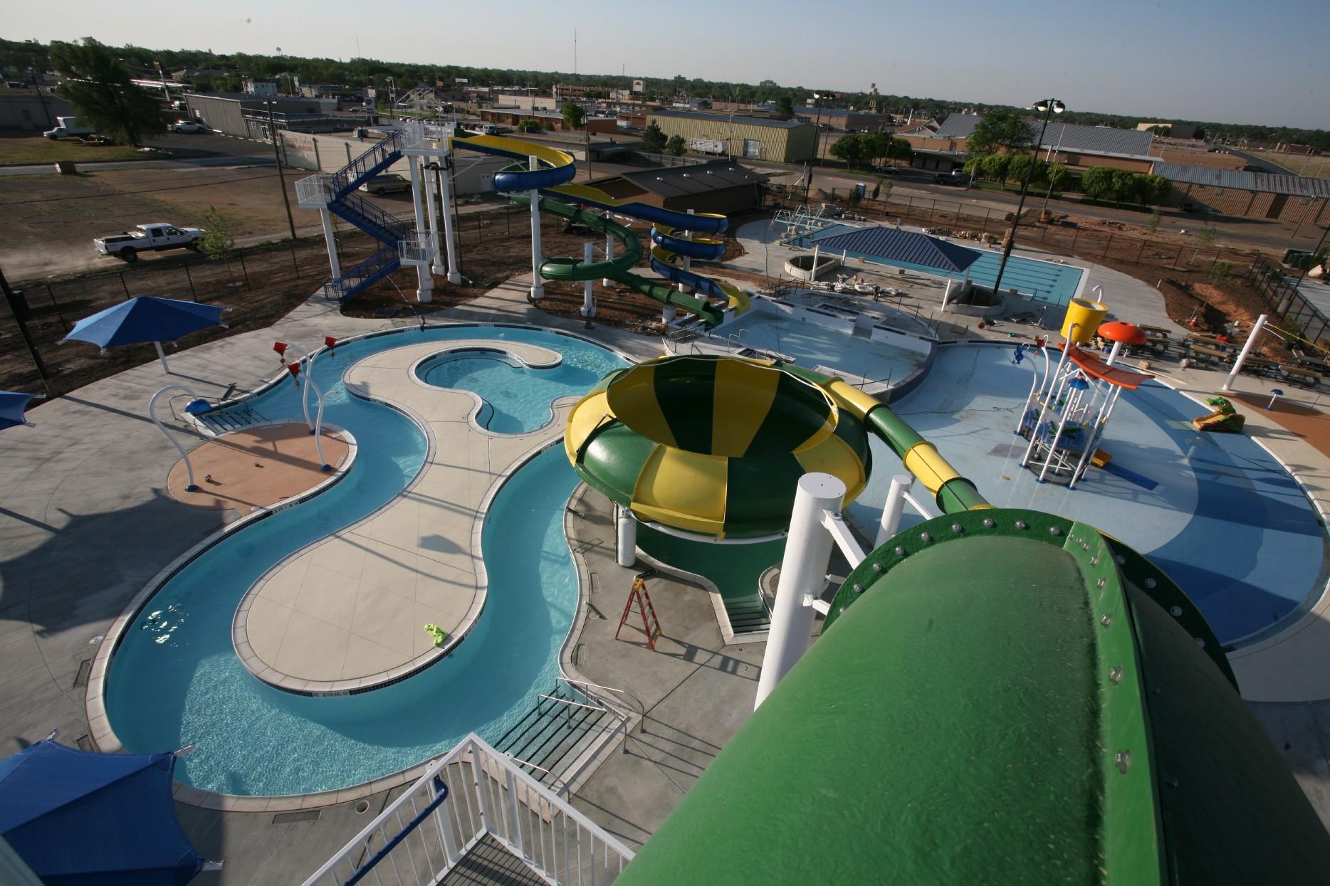 H20 Pampa Aquatics waterpark.