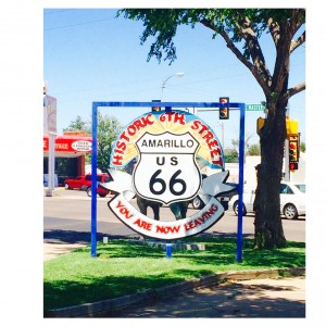 6th Street Entrance to Historic Route 66.