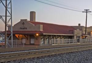 pampa railroad station
