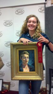 2nd place at the SKB art show!