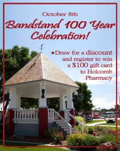 Holcombs- Bandstand celebration