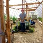 Me In the greenhouse