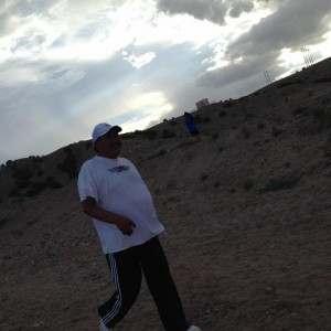 San Felipe Governor Walking