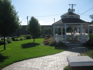 the new lovely Gazebo in Atwood