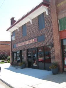 The Rialto Theater entrance.