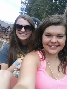 Meghan and I