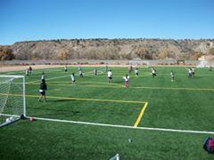 The San Felipe Pueblo soccer field used by NB3F & community members