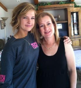 me and mom photo