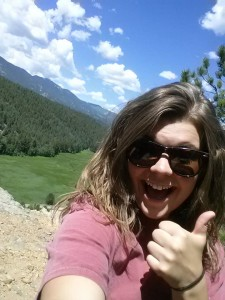 mountains and me