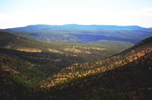 View of the Gila from Hwy 15