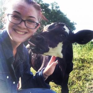 Kisses from the bottle calf, Tator! :)