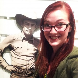 While at the Walnut Counsel conference, we were able to tour the Flint Hills Center. Here I met this great fella!