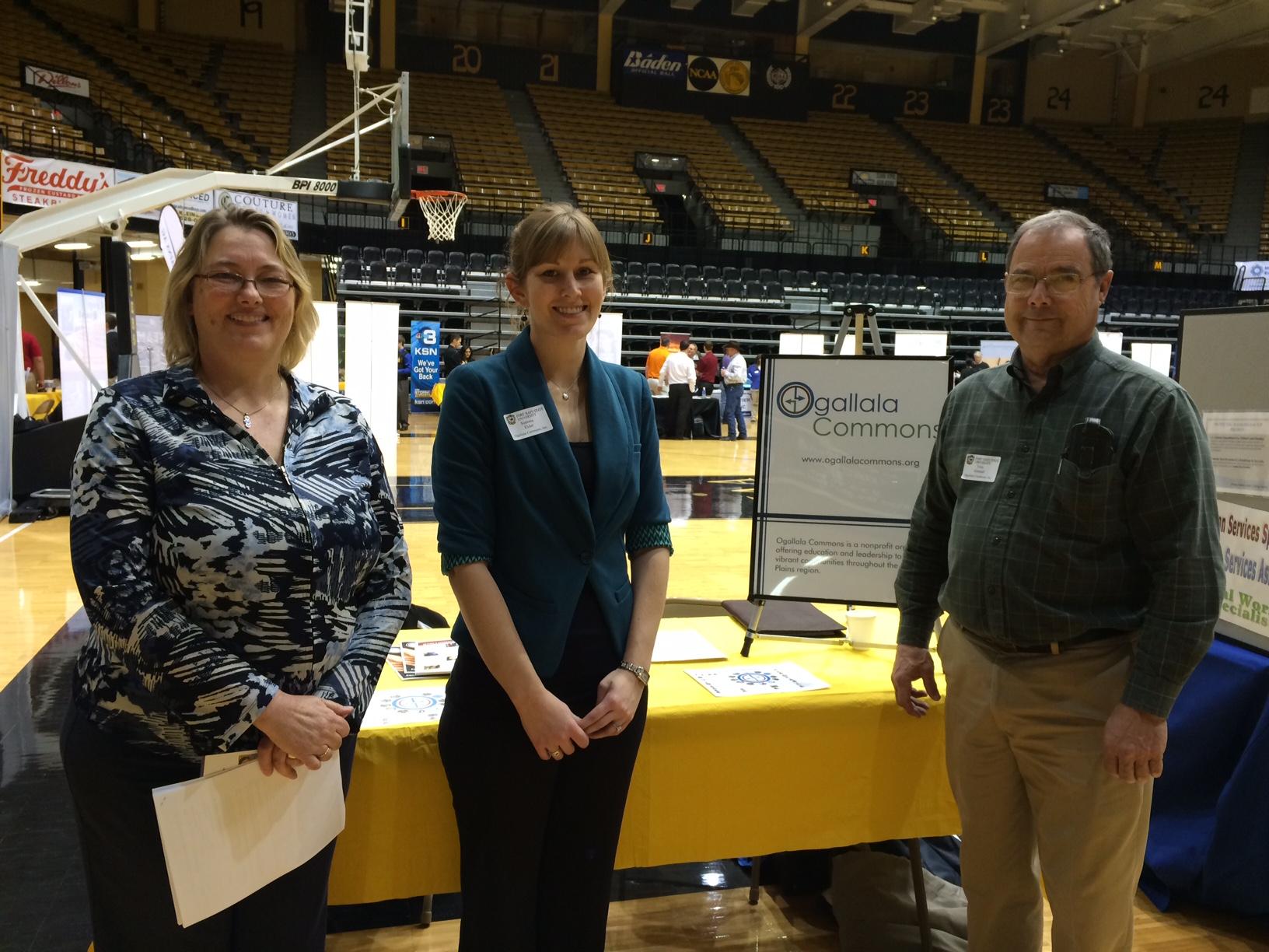 FHSU Career Fair OC Booth
