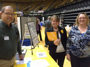 FHSU career fair booth