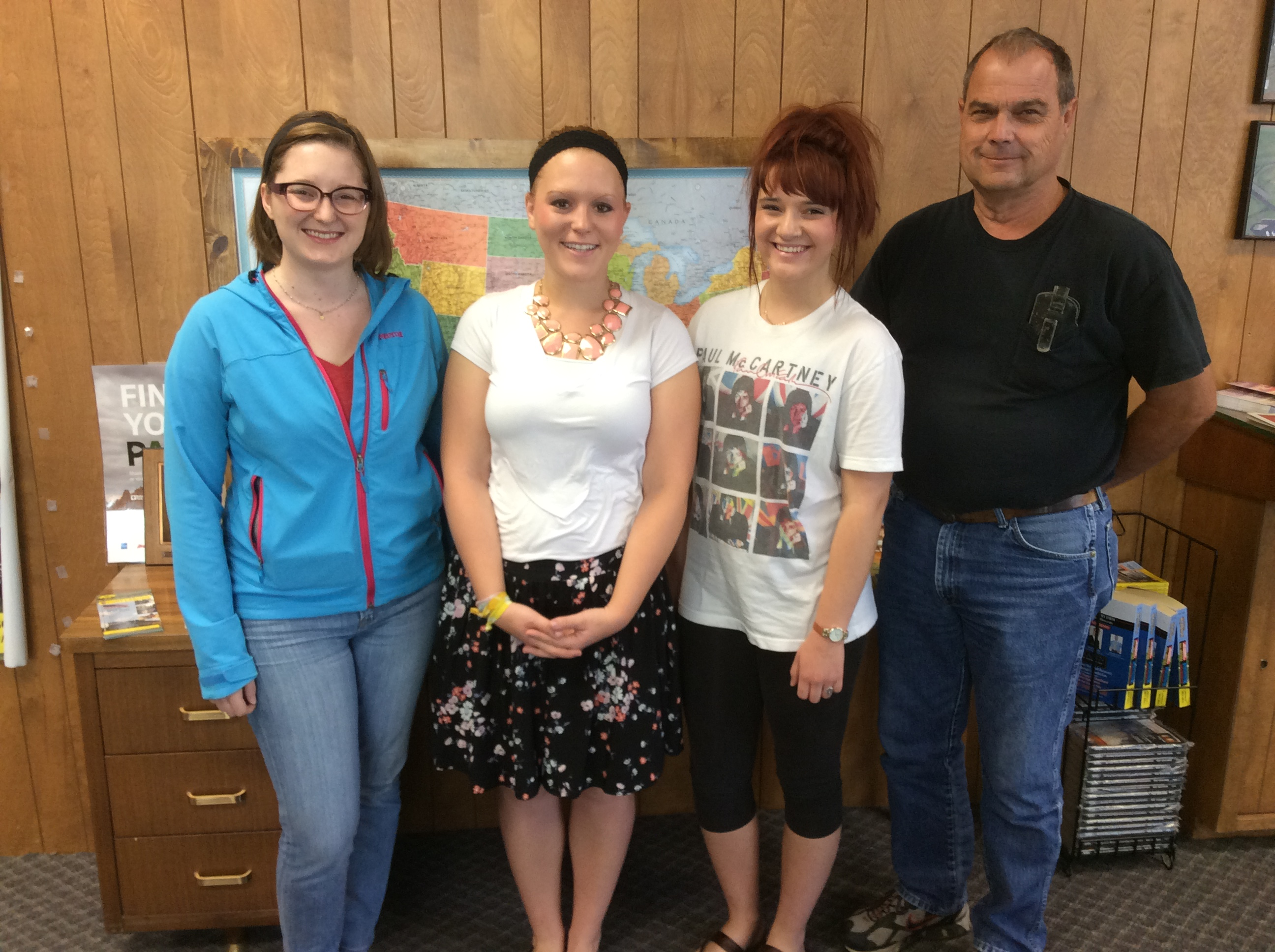 Tom Giessel join us in a visit with OC Intern Supervisor Sydnee Blanton in Larned, KS