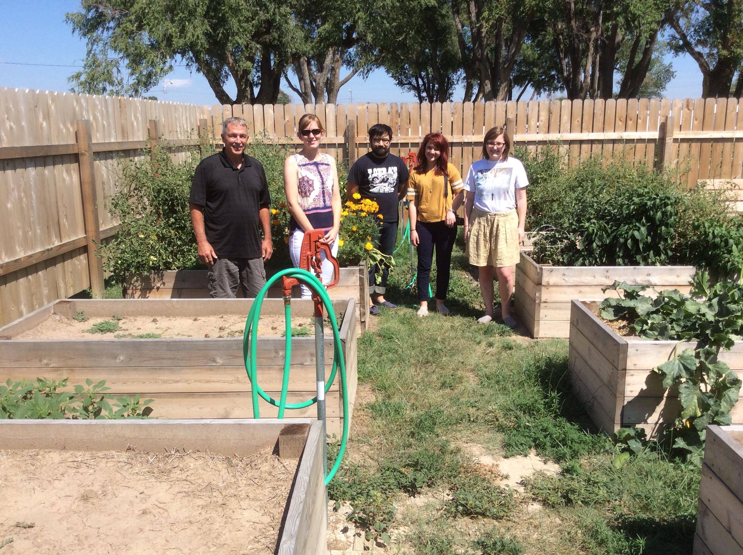 Leoti, KS Community Garden with Simone