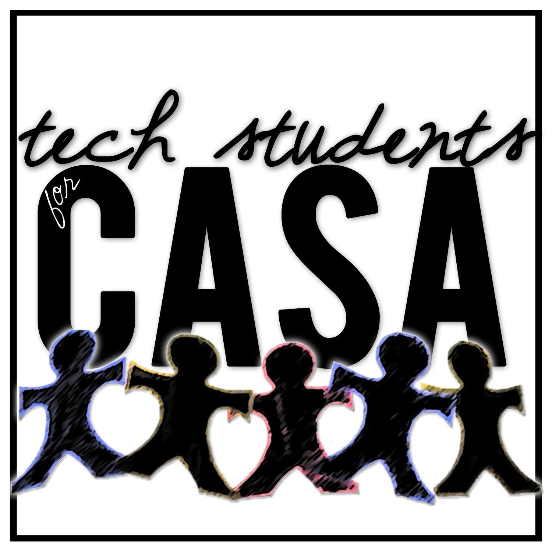 tech students for CASA logo