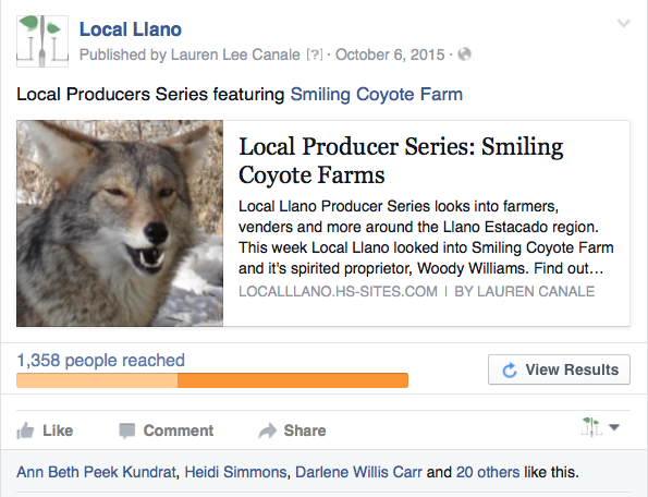 smiling coyote farms