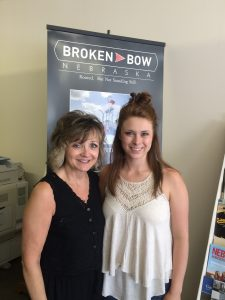 Donnis (Left) is the Executive Director of the Broken Bow Chamber of Commerce and she is also my OC Superviser