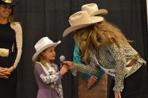 Little Buckaroo Rodeo Princess and myself at the Pioneer Women's Breakfast