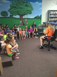 Reading at the Nazareth Library