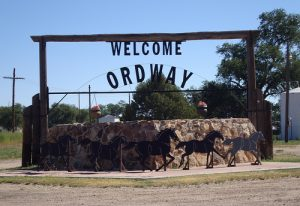 Welcoming our visitors to Ordway