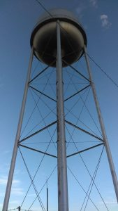 One of the two water towers we have in Friona