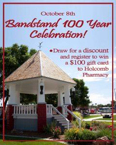 Holcombs- Bandstand celebration