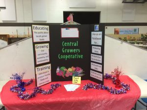 Booth I set up at several County Fairs in order to catch a wide variety of public to survey.