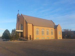 St. Mary's Catholic Church: 22830 Pondaseta Rd Umbarger, TX 79091